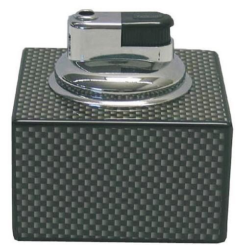 Tischfeuerzeug carbon fiber nachf llbar im edlen for Haushaltsartikel auf rechnung