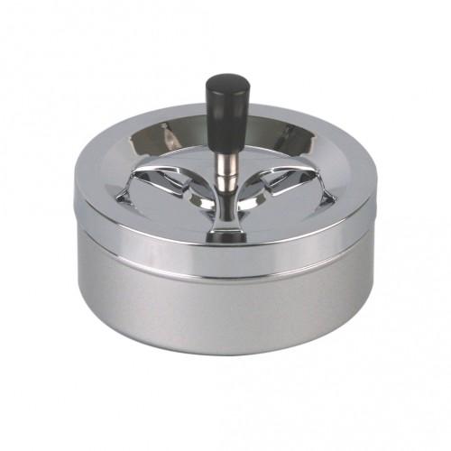 Drehascher chrom/silber Metallic 14cm